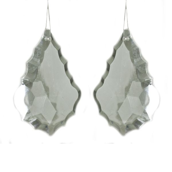Clear Acrylic Drop - 2 Pack