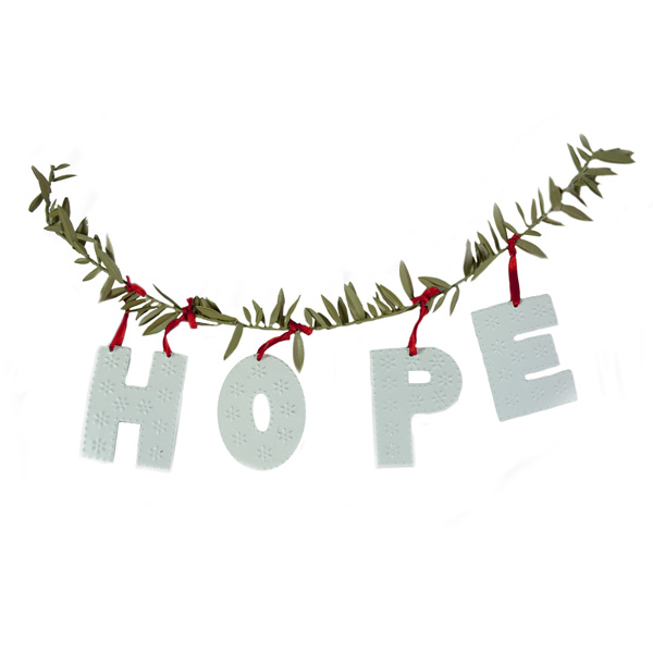 Birchcraft Hope Garland - 46cm