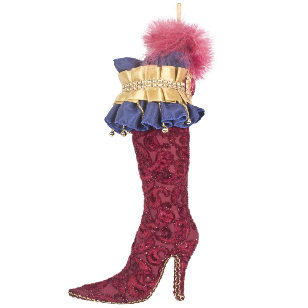 Victorian Ladies Boot Hanging Decoration - 35cm