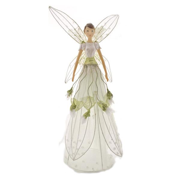wholesale dealer 0ac86 9d33d Gisela Graham Snowdrop Fairy Tree Topper - 28cm