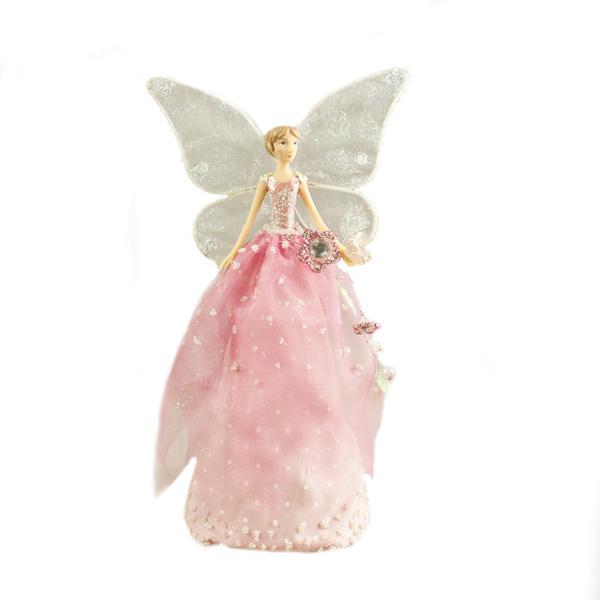 Gisela Graham Fairyland Tree Top Fairy - 18cm