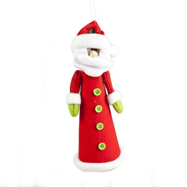 Felt Santa Character Tree Topper - 23cm