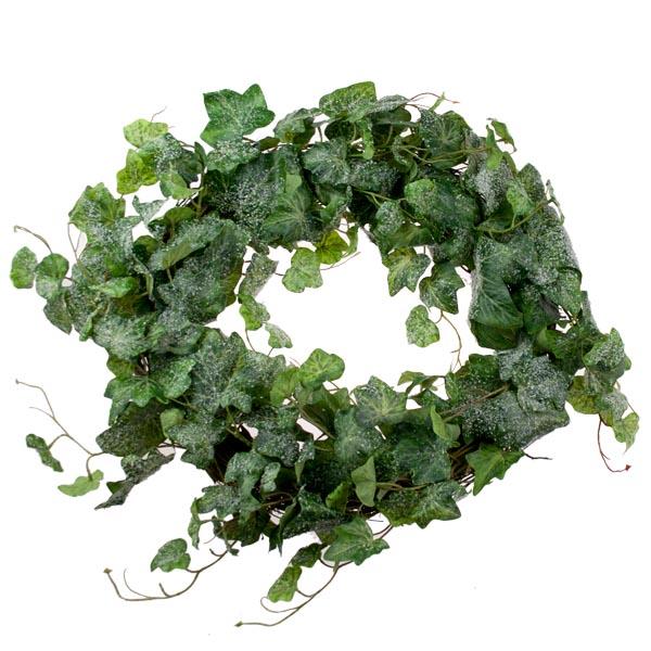 Snowy Ivy Wreath - 50cm