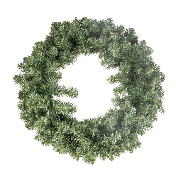 Artificial Imperial Green Wreath - 60cm