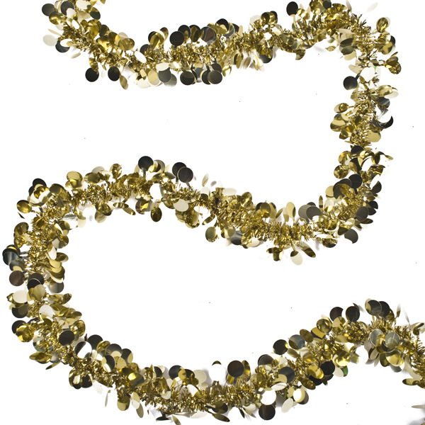 Gold Ball Garland - 2m x 40mm