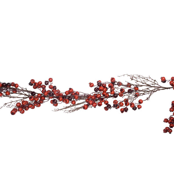 Christmas Outdoor Twig And Berry Garland - 180cm