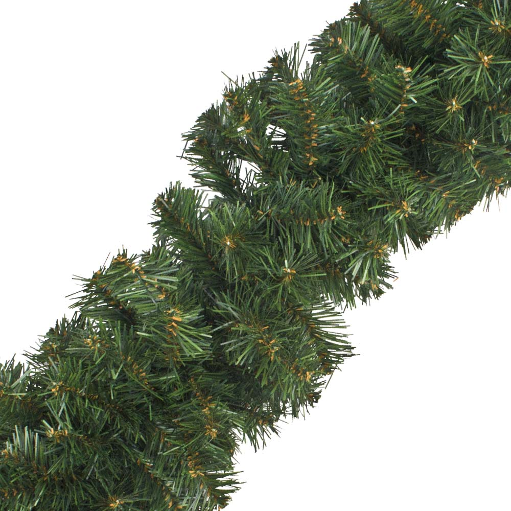 Natural Effect Green Pine Garland - 2.7m x 18cm