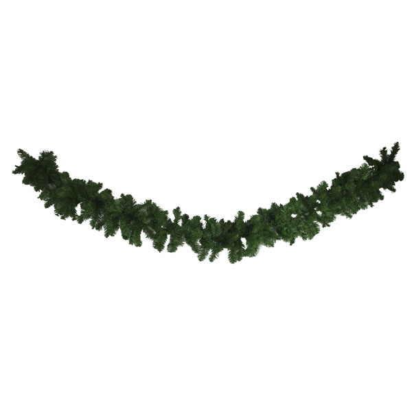 Artificial Imperial Pine 30cm Green Garland - 2.7m