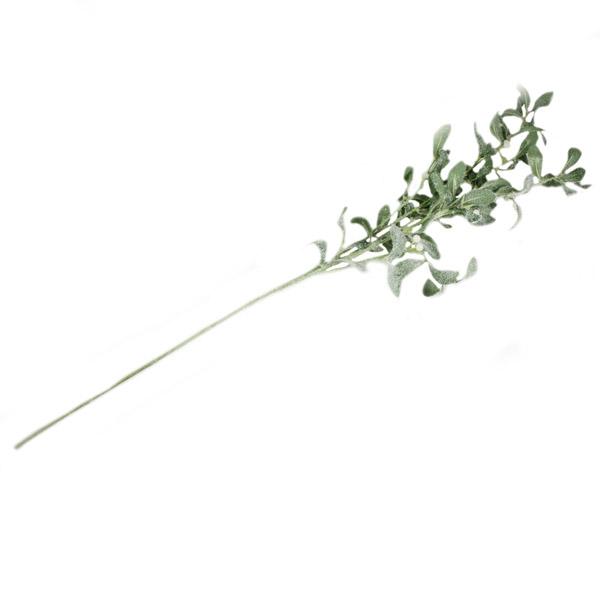 Frosted Silk Mistletoe Branch Spray - 97cm