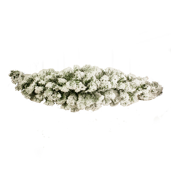 Artificial Green Pine Snow Effect Swag - 1.2m