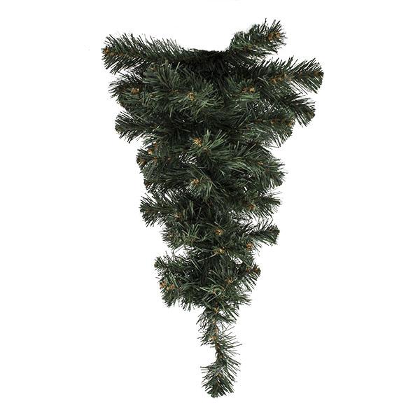 Artificial Green Pine Teardrop - 60cm Max