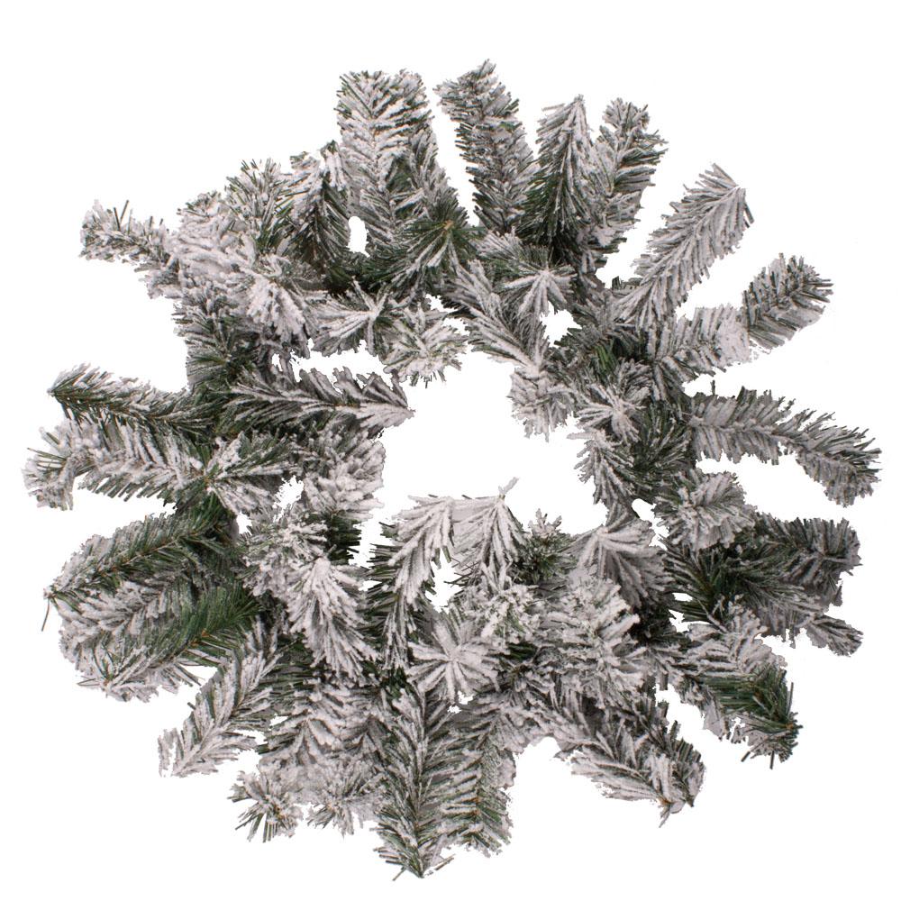 Snowy Canadian Wreath - 50cm