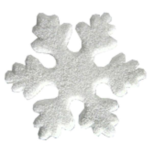 White Hanging Snowflake Decoration - 22cm
