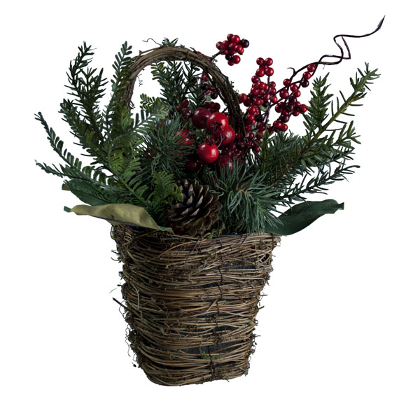 Natural Berry Basket - 30cm X 32cm