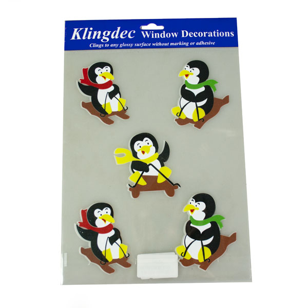 Penguin Design Window Stickers