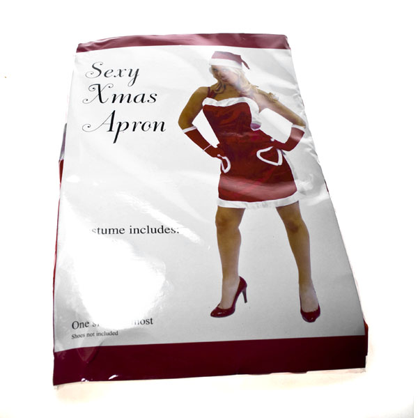 Ladies Christmas Apron