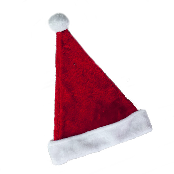 Soft Plush Santa Hat