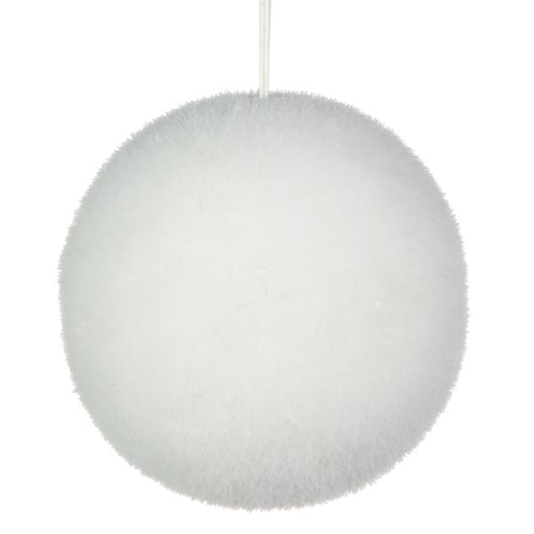 Bristly Snowball With Iridescent Flecks - 130mm
