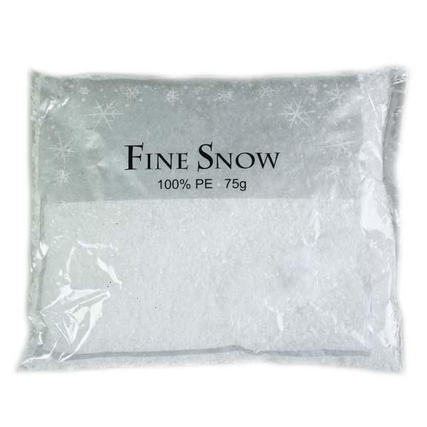 Artificial Fine White Snow - 75gm