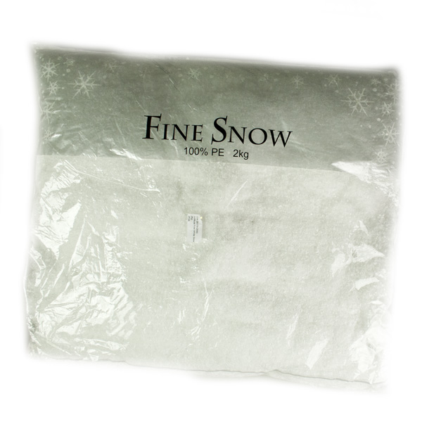 Artificial Fine White Snow - 2kg