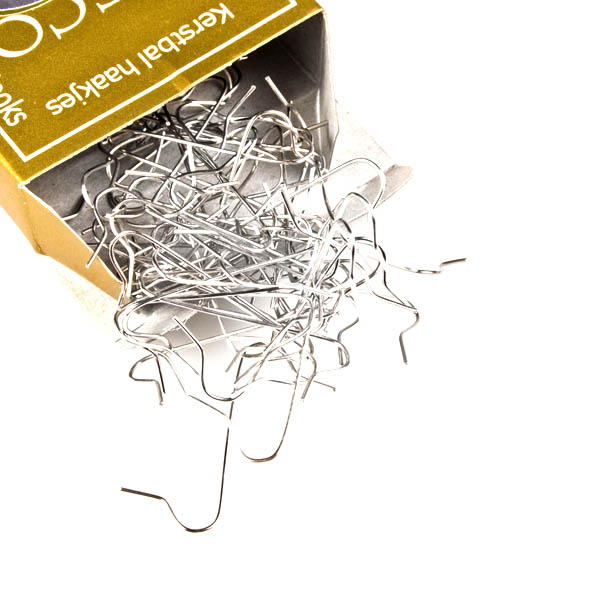 Pack of 50 Silver Bauble Hangers
