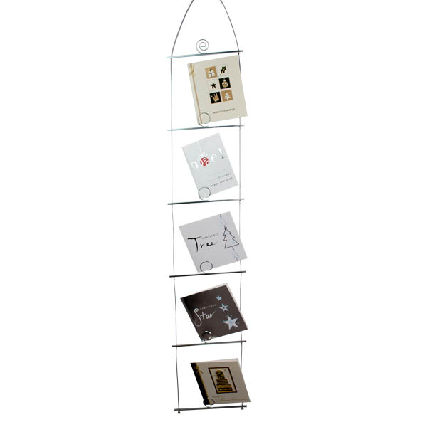 Contempory Ladder Card Holder - 100cm