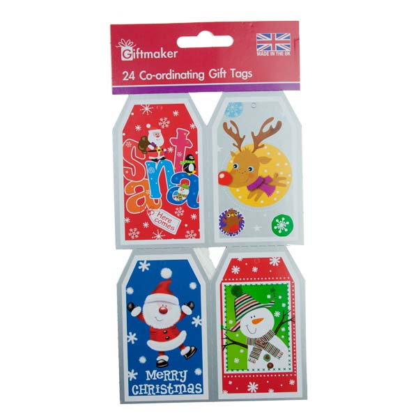Tom Smith Pack Of 24 Novelty Gift Tags