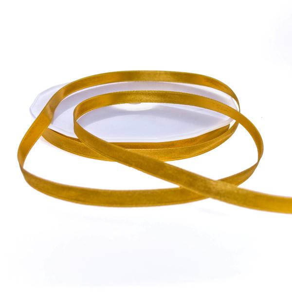 Gold Double Face Satin Ribbon - 50m x 10mm