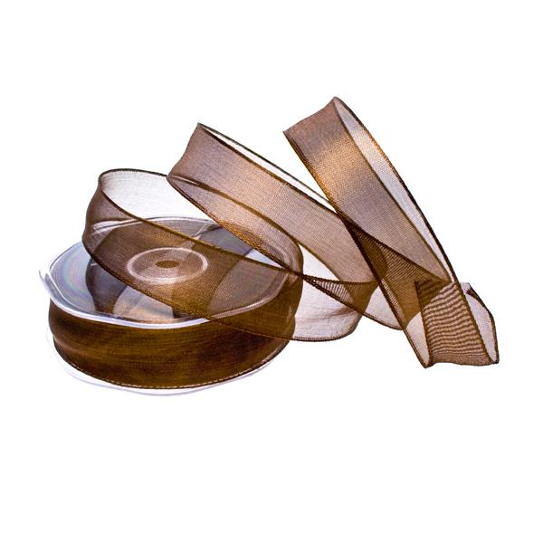 Radiant Metal Wired Ribbon - 20m X 25mm