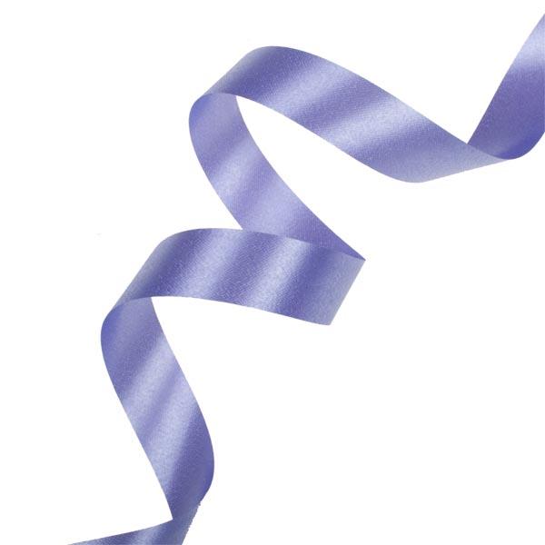 Lavender  Poly Satin Ribbon - 91m x 19mm
