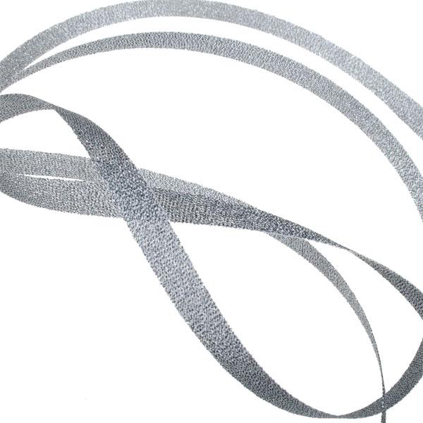 Silver Shiny Ribbon - 20m x 7mm