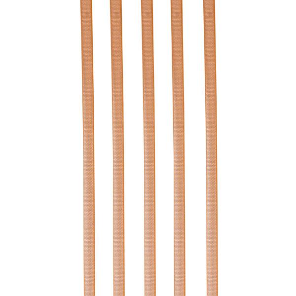 Orange Organza Woven Edge Ribbon - 3mm X 50m