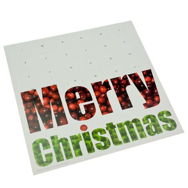 Caltime Merry Christmas Advent Calendar