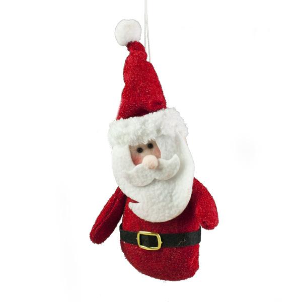 Plush Santa Character Toy - 15cm
