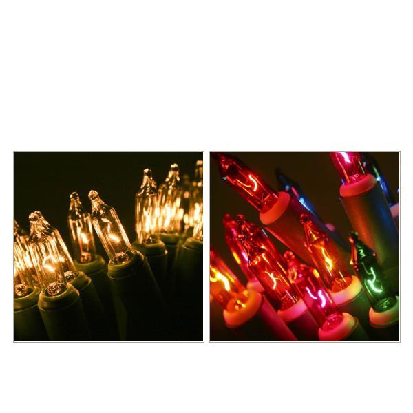 Konstsmide Indoor Static Fairy Lights Green Cable