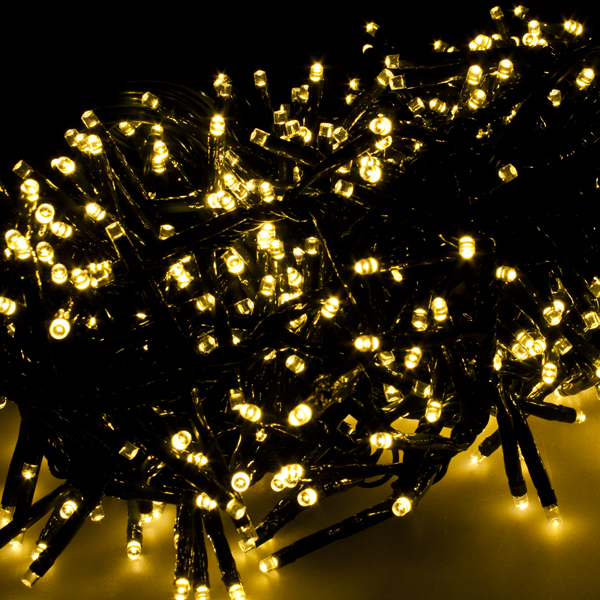 Premier 93m length of 720 multiaction warm white outdoor led premier 93m length of 720 multiaction warm white outdoor led cluster fairy lights green cable aloadofball Choice Image