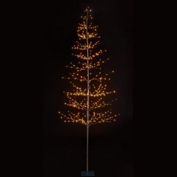 Pre-lit Twig Tree With Warm White Micro LED's - 1.5m