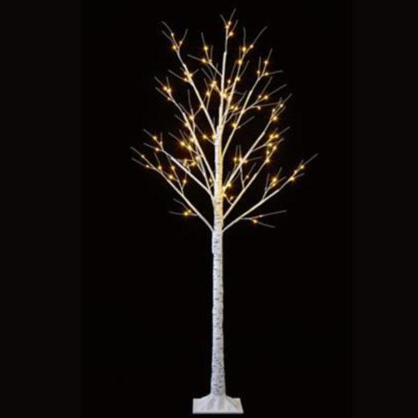 Pre-Lit Birch Twig Tree With Warm White LED's - 1.5m