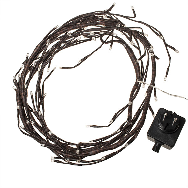 Festilight 3.6m Indoor And Outdoor Brown Structured Branch With 288 Static Warm White LED's