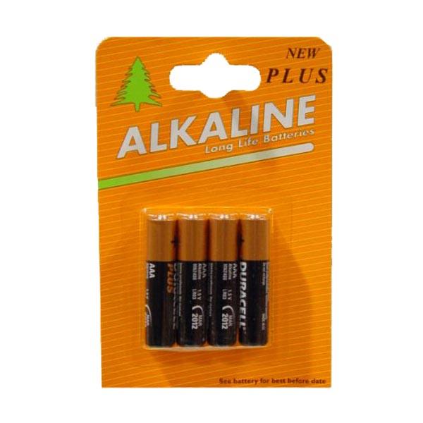 Duracell Batteries - 4 x AAA