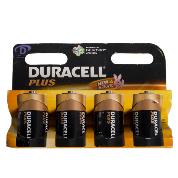 Duracell Batteries - 4 x D