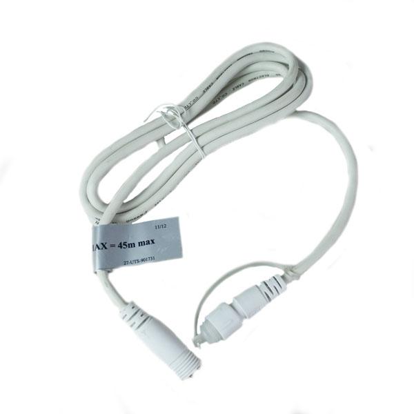 Festilight White 2m  Extension Lead For The 230v Connectable Range