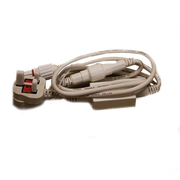 Idolight 1.5m White Cable UK Plug