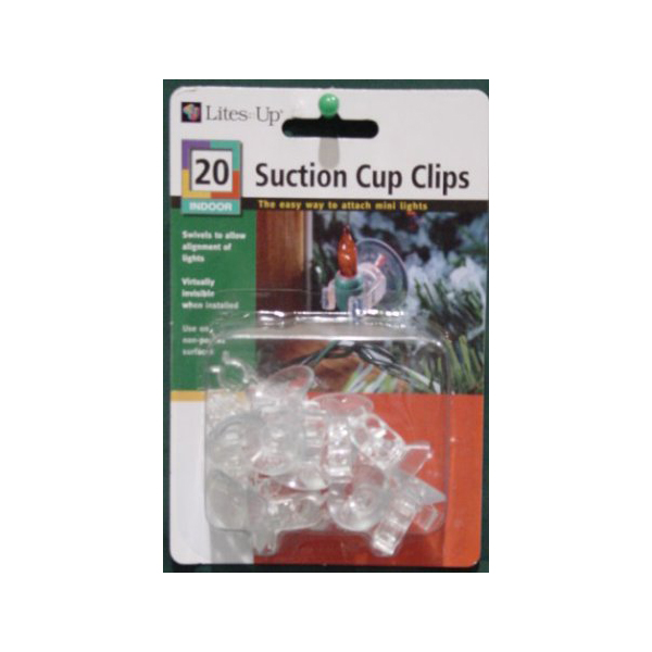Noma Mini Light Suction Clips - Pack Of 20