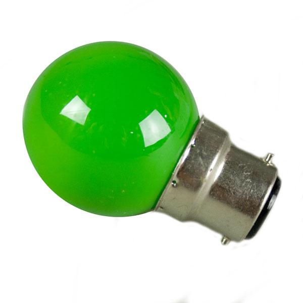 Festilight Green B22 LED Bulb For Stringlight Harness