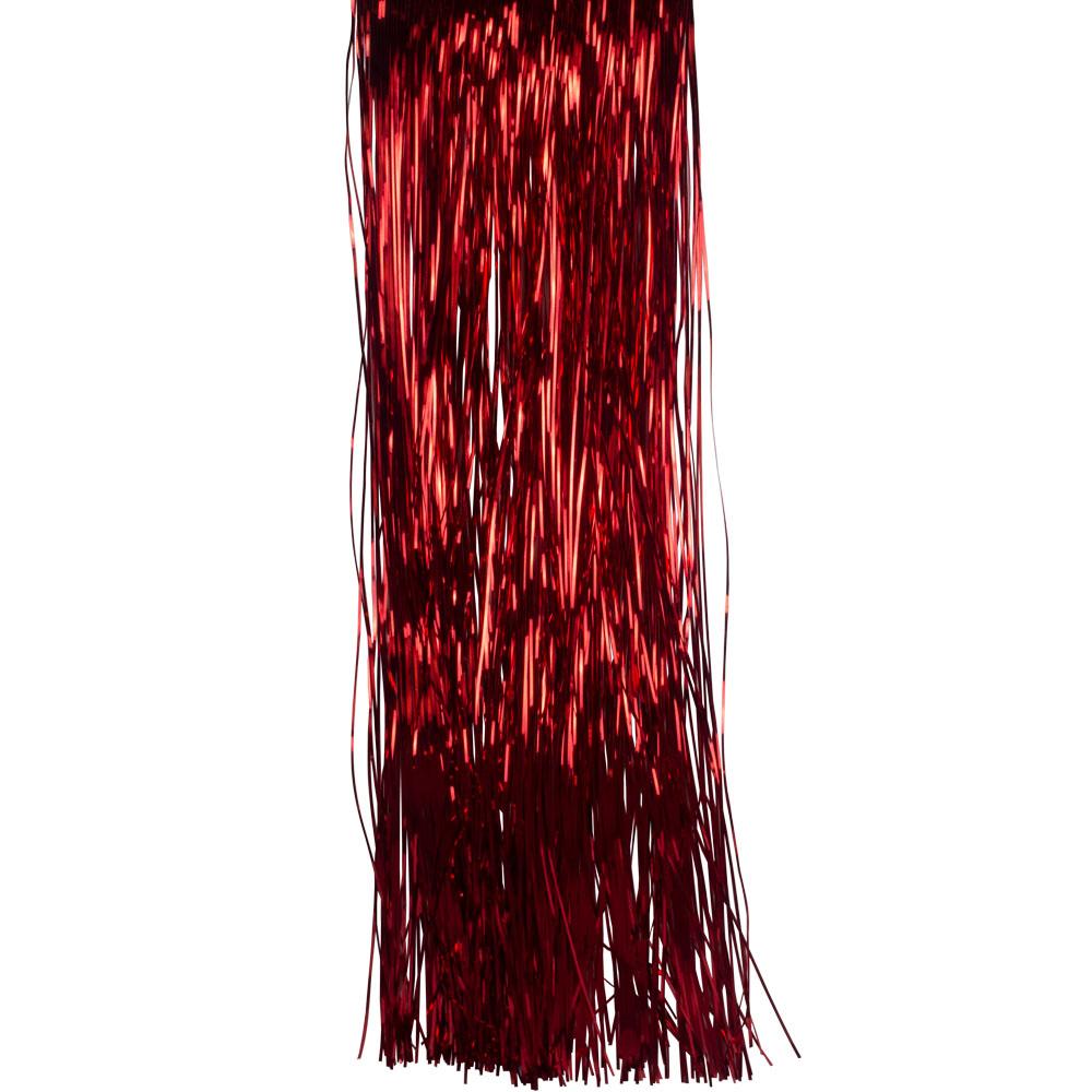 Red Lametta - 50cm x 40cm