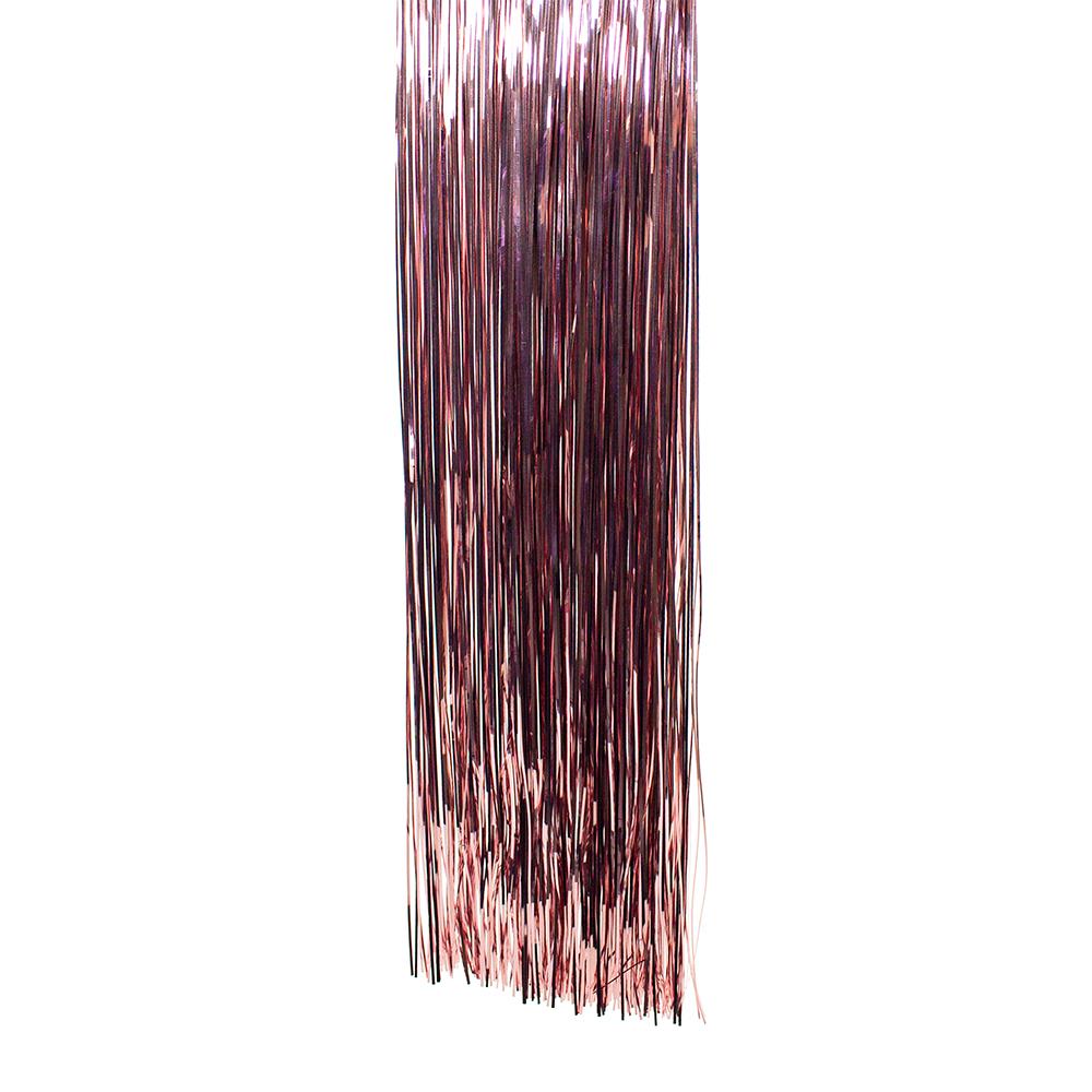 Velvet Pink Lametta - 50cm x 40cm