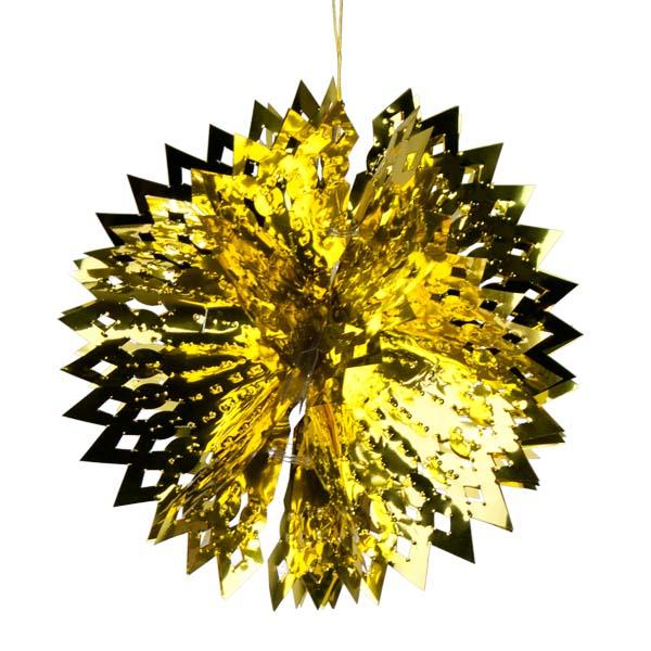 Foil 30cm Ball - Gold