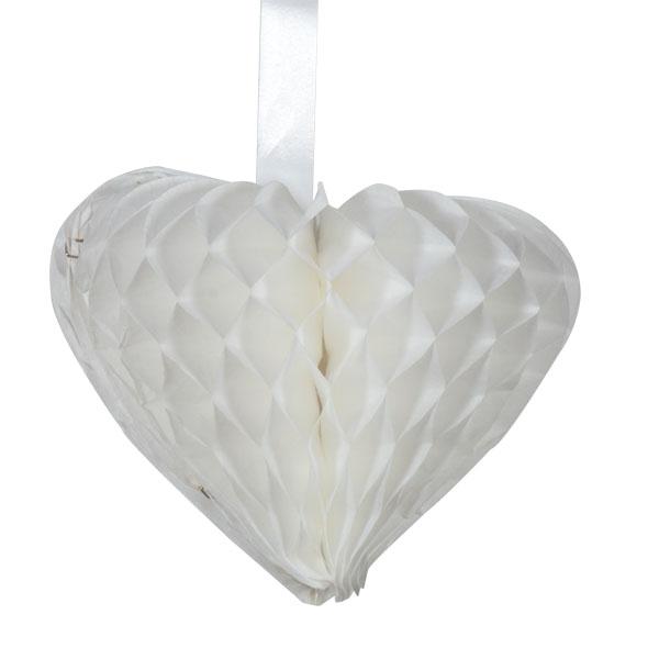Paper Heart - 15cm x 18cm