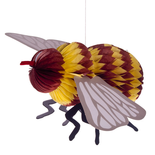 Paper Bumble Bee Decoration